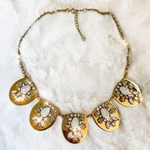 Loft Opal Statement Necklace